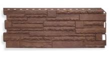 Фасадные панели для наружной отделки дома (сайдинг) Рельефная в Кирове Фасадные панели Альта-Профиль